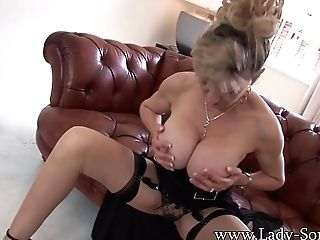 Obsessed With His Aunts Big Tits - Ladysonia