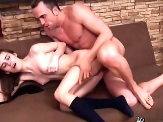 Awesome Mexican Experienced Woman Is Deepthroating A Salami