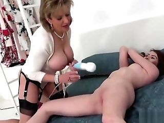 Unfaithful Brit Matures Lady Sonia Shows Off Her Large Breasts