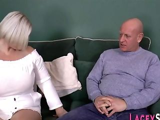 Shlong Sucking Brit Granny Gets Fucked Doggystyle