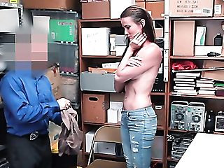 Lengthy Haired Nymphomaniac Sofie Marie Gets Penalized With Hard Mish By Cop