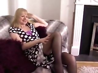 Amanda Degas Strips And Plays With Herself