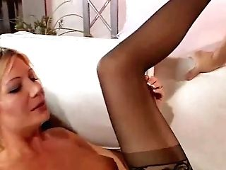 Horny Blonde Housewife Swapper