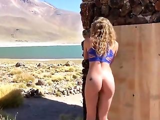 Ass Fucking Fuck In Open Natural Space - Vacation With Wifey