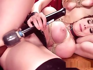Spoild Impudent Slave And Stepmom Bangs Butler In Domination & Submission