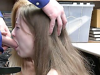 Guilty Chick Samantha Hayes And Pervy Auburn Mummy Get Fucked By Cop