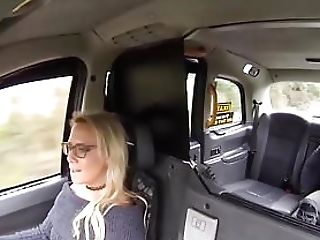 Mummy Cab Driver Sasha Steele Begging For That Big Black Cock