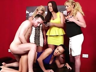 Doggystyled Cfnm Mummy Fucked By Lucky Dude
