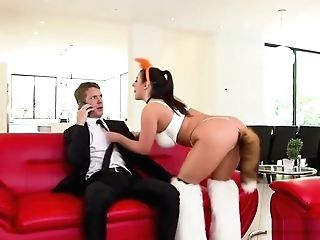 Angel Milky Squirting While Butt-fucked Wild!