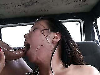 Marvelous Giant Jugged Asian Cowgirl Tigerr Benson Is Fucked In The Car