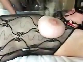Crazy Homemade Big Tits, Domination & Submission Pornography Clip