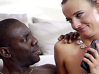 Spoiled Rich Bitch Victoria Unspoiled Gets Her Czech Rear Entrance Fucked By Big Black Cock Possessor