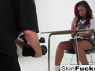 Classroom Lesbos With Skin Diamond And Alison