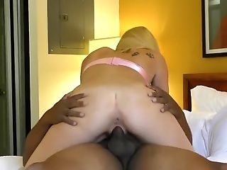 Married Whore Cali Leigh Takes First-ever Big Black Cock