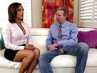 Whore Wifey Francesca Le Invites Whorey Youthfull Chick For Dirty Threesome Fuck-a-thon